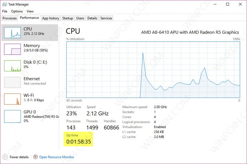 Cara Mudah Mengetahui Berapa Lama Windows Menyala