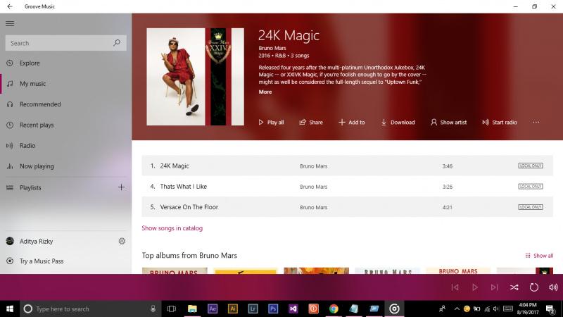 Cara Reset Groove Music di Windows 10 (1)
