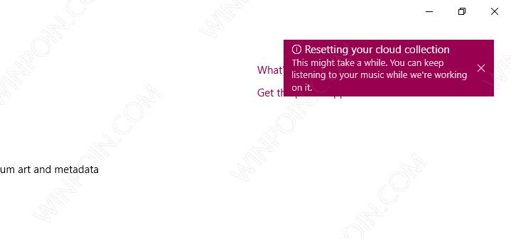 Cara Reset Groove Music di Windows 10 (6)