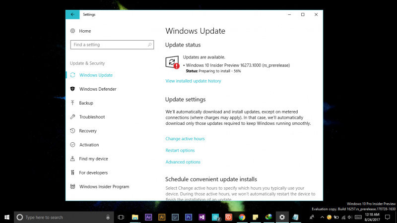 Microsoft Merilis Windows 10 Insider Preview Build 16273 (PC) (1)