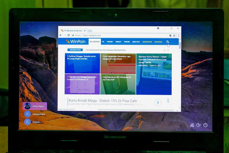 Trik Cara Menjalankan Program pada Lock Screen Windows 10 (2)
