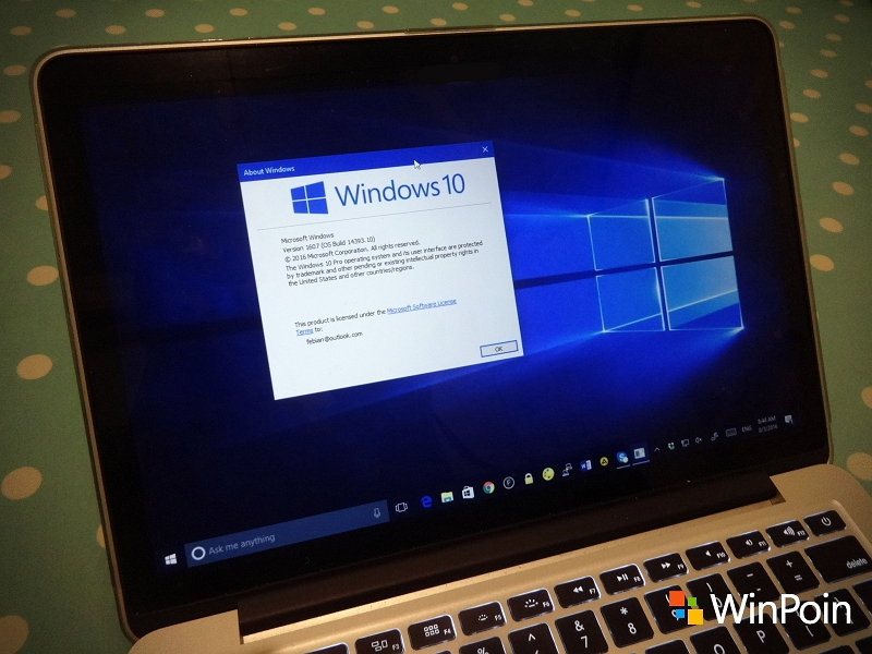 Windows 10 PC Build 14393.1613 Sudah Dirilis