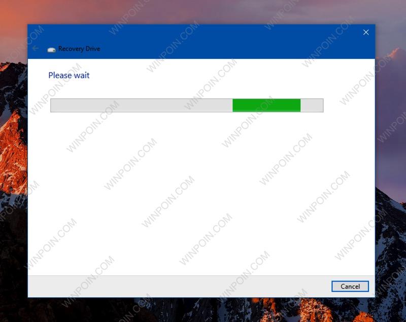 Membuat Sendiri Recovery Drive Windows 10 di USB Flashdisk