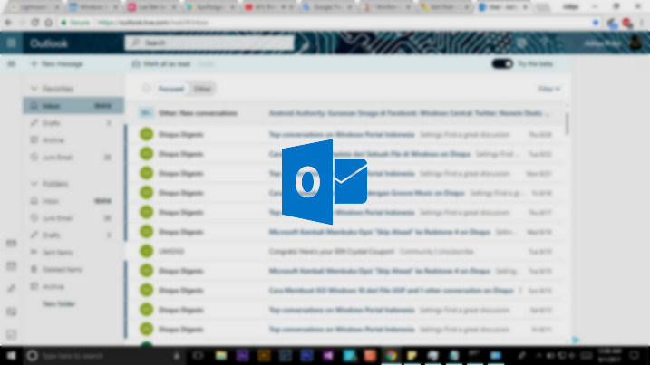 Cara Mematikan Fitur Focused Inbox pada Outlook (31)