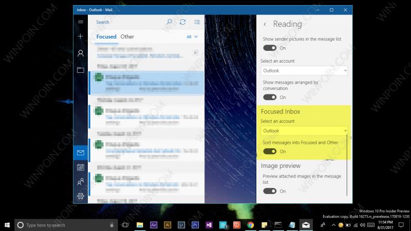 Cara Mematikan Fitur Focused Inbox pada Outlook (7)
