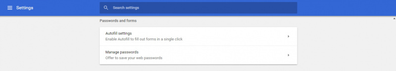 how to add autofill password on chrome
