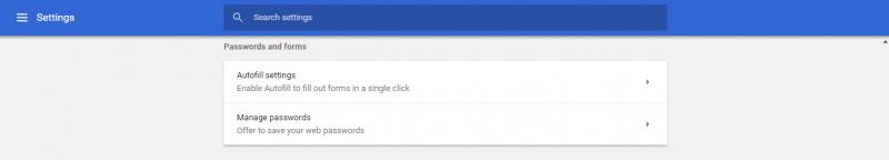 how to delete autofill websites chrome