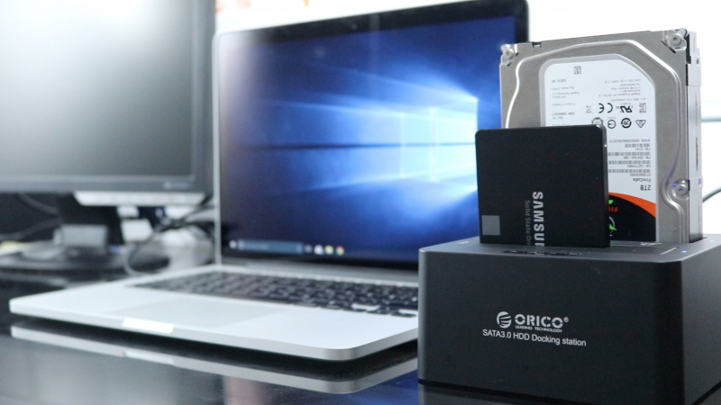 Review Orico HDD Docking Station (Indonesia)