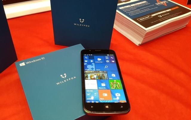 Wileyfox Rilis Ponsel Windows 10 Mobile