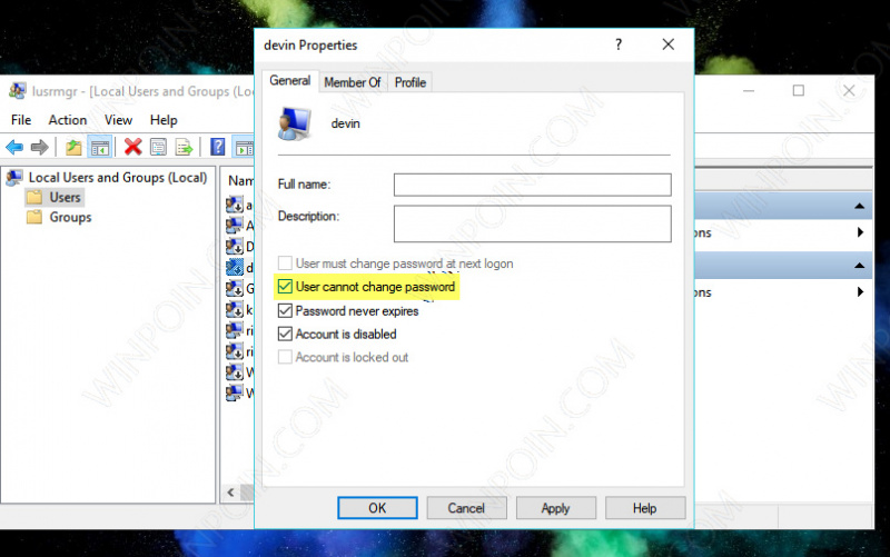 Cara Mencegah User Mengganti Password di Windows 10 (6)