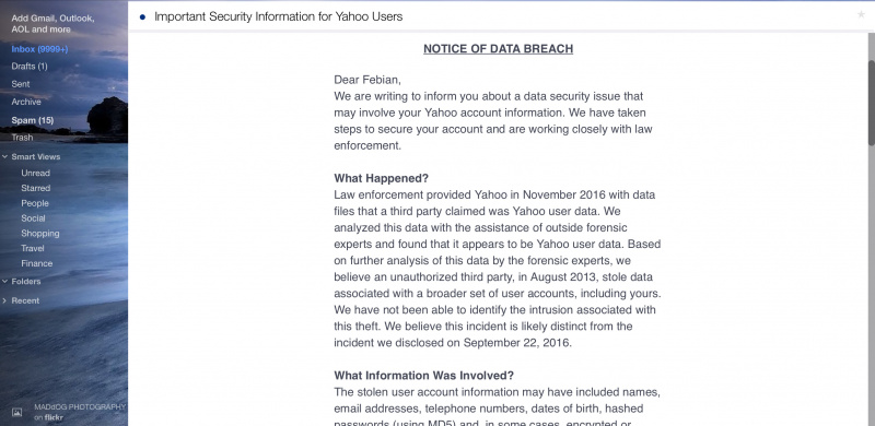 Semua Akun Yahoo Jadi Korban Hacking, Mungkin Kamu Salah Satunya?