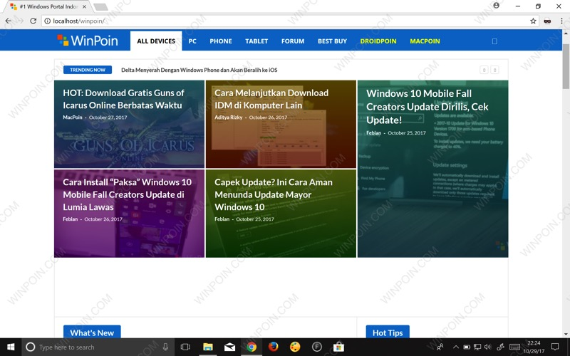 Cara Membuat Web Server di Windows PC