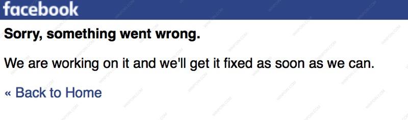 Facebook dan Instagram Down, Tidak Bisa Diakses