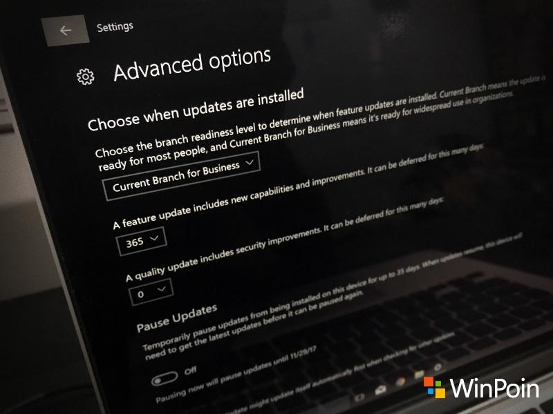 Cara Menunda Update Mayor Windows 10 dengan Tetap Aman