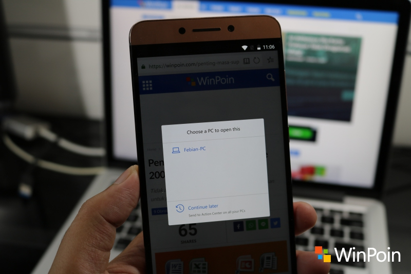 Microsoft Edge (Preview) untuk Android Dirilis, Download Disini