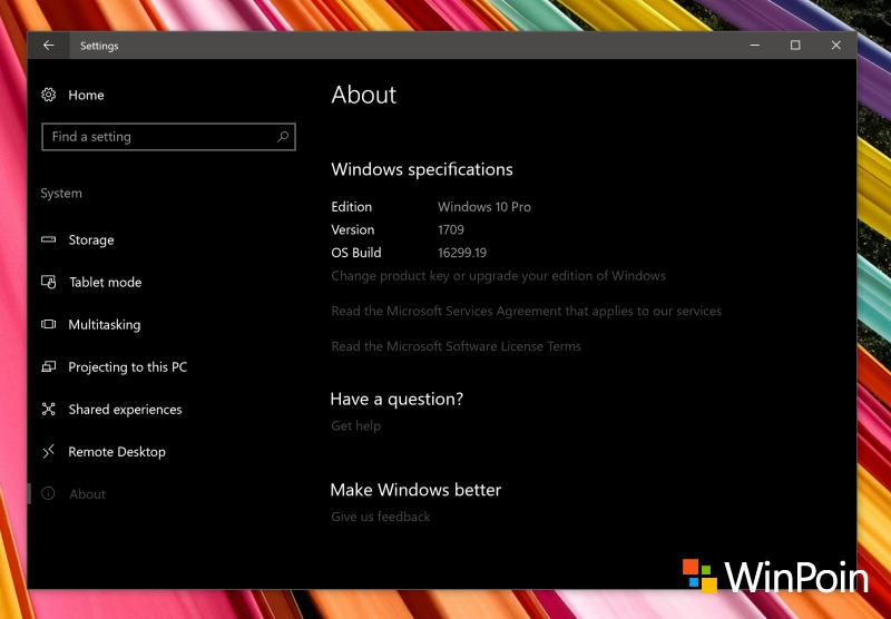 Tanda Bahwa Windows 10 Kamu Sudah Berada di Fall Creators Update