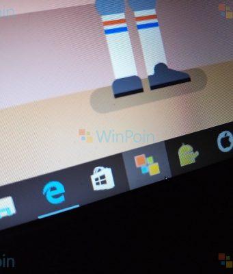 Cara Pin Website Favorit via Microsoft Edge di Taskbar Windows 10 Fall Creators Update