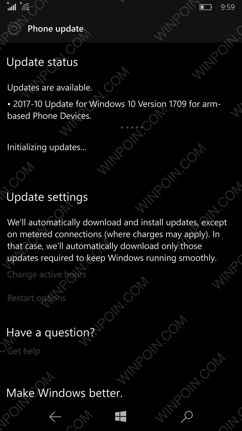 Windows 10 Mobile Fall Creators Update Sudah Dirilis, Cek Update!