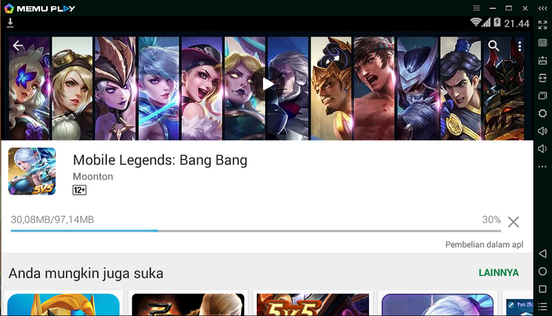 Main Mobile Legends di PC? Why Not!