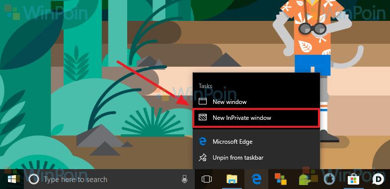 3 Cara Membuka Mode InPrivate di Microsoft Edge