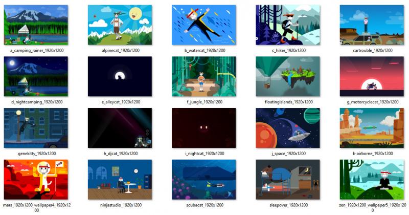 Download Wallpaper Ninja Cat Terbaru Disini! (2)