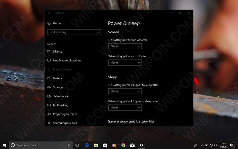 Cara Agar Laptop / Komputer Tidak Sleep Otomatis