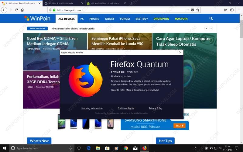 Cara Download dan Install Firefox Quantum Sekarang Juga! | WinPoin
