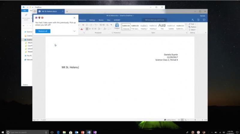 Inilah Sets — Fitur Tab Cerdas di Windows 10