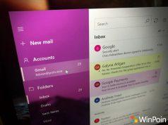 Tampilan Baru Mail di Windows 10: Kini Tampil Cantik dengan Fluent Design