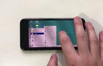 Tidak ada yang meragukan bagaimana performa iPhone X dengan chip Apple A11 Bionic yang dimilikinya. Hasil score Geekbench menunjukkan kemampuan multi-core iPhone X bahkan melebihi MacBook Pro 13-inch dengan prosesor varian tertinggi. Tentu saja kemampuan ini melampaui performa komputer di era Windows 95 dulu, dan ini bisa terlihat dari begitu lancarnya Windows 95 saat dijalankan di iPhone X! Kamu tidak salah baca. Seorang hacker yang memang sudah rutin mencari cara untuk bisa menjalankan Windows di iPhone — hacking jules, baru saja memamerkan bagaimana Windows 95 berjalan lancar di iPhone X — bahkan tetap lancar saat digunakan untuk memainkan game Windows legendaris SimCity 2000 dan membuka Microsoft Word jadul. Bisa berjalannya Windows 95 di iPhone X ini berkat emulasi PowerDOS yang tersedia di App Store. Dengan memanfaatkan emulasi tersebut, hacking jules mampu membuat Windows 95 berjalan di iPhone X, sekaligus menjadikan berbagai gesture dan swipe terdeteksi dengan mulus untuk navigasi Windows. Bagi kamu yang penasaran, langsung saja lihat bagaimana Windows 95 berjalan di iPhone X melalui video berikut ini: Dengan kemampuan chip Apple A11 Bionic yang bahkan mengungguli kemampuan prosesor MacBook Pro, tidak mengherankan jika Windows 95 berjalan lancar di iPhone X ini.