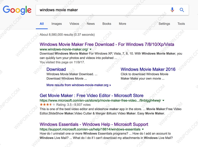 Jangan Tertipu, Windows Movie Maker Ini Palsu