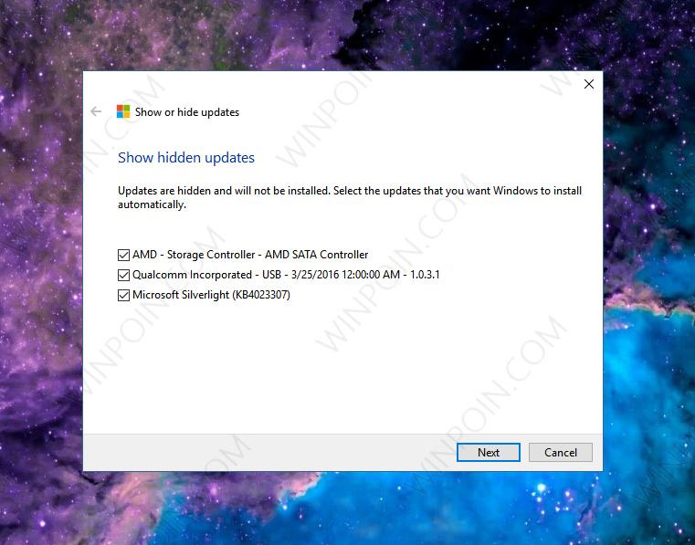 Cara Memblokir Update Tertentu di Windows 10 (6)