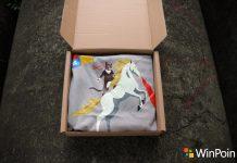 """Tampil Beda dengan Kaos """"Ninja Cat Unicorn"""" Glow Eksklusif (Menyala dalam Gelap)"""