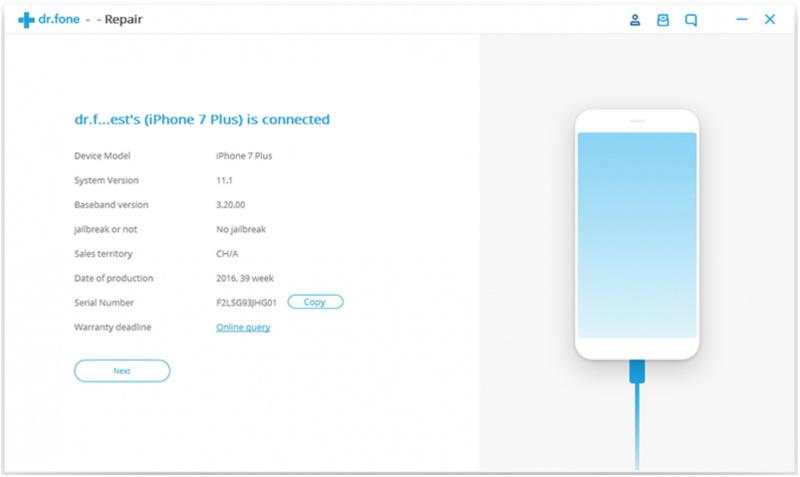 Memperbaiki Berbagai Masalah iPhone Melalui Windows dengan dr.fone