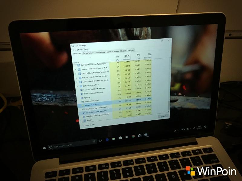 Mengatasi Windows Explorer Crash / Not Responding Tanpa Restart
