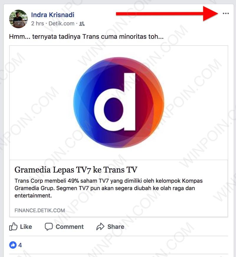 Cara 'Membungkam' Teman Menyebalkan di Facebook Tanpa Unfollow / Unfriend