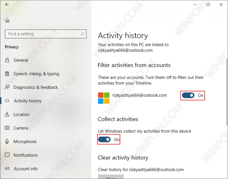 Cara Mematikan Fitur Timeline di Windows 10 (2)