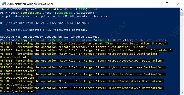 Cara Membuat Bootable USB Windows dengan PowerShell (3)