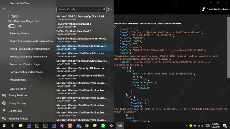 Cara Mengaktifkan Diagnostic Data Viewer di Windows 10 (1)