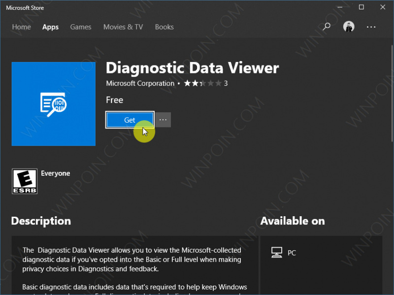 Cara Mengaktifkan Diagnostic Data Viewer di Windows 10 (3)