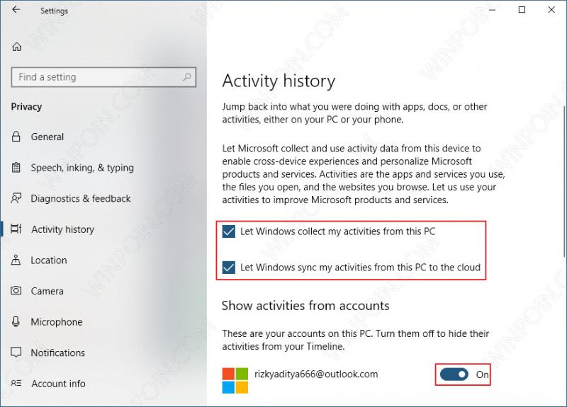 Cara Mengaktifkan Fitur Timeline di Windows 10 (2)