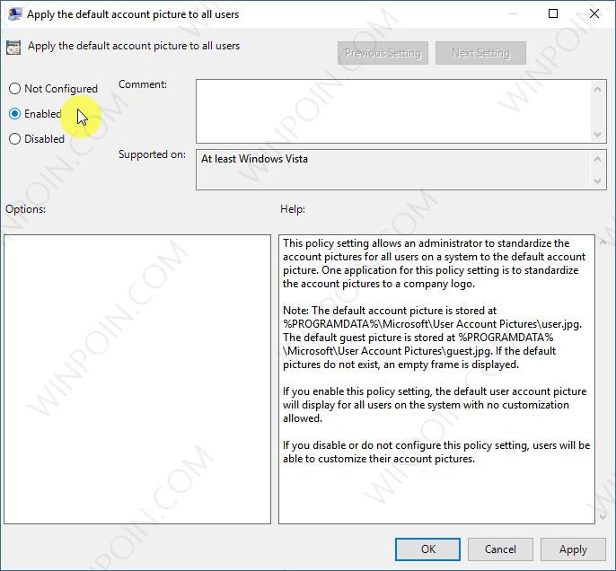 Cara Mengatur Default User Picture untuk Semua User di Windows 10 (6)