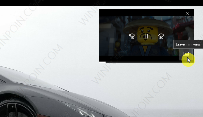 Cara Menjalankan Fitur Mini View di Windows 10 Movies & TV app (4)