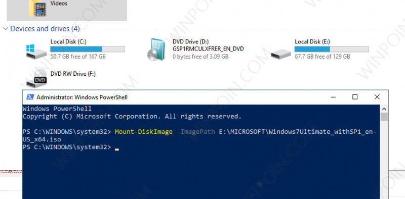 Cara Mount atau Unmount File ISO di Windows 10 (2)
