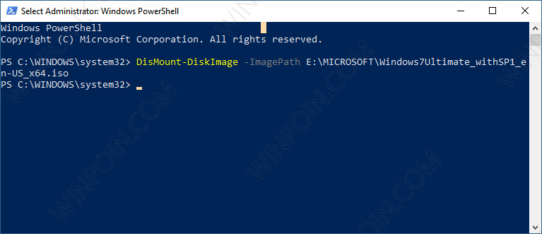 Cara Mount atau Unmount File ISO di Windows 10 (4)