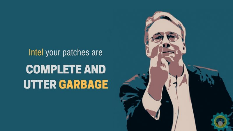 "Linus Torvalds: Patch Intel Itu ""Sampah"""