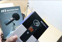 Unboxing Zoom H1 + Accessory Pack, Apa Saja Isinya?
