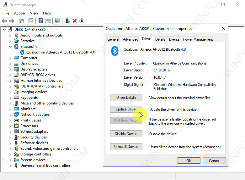 Cara Memperbaiki Bluetooth yang Hilang di Windows 10 (1)