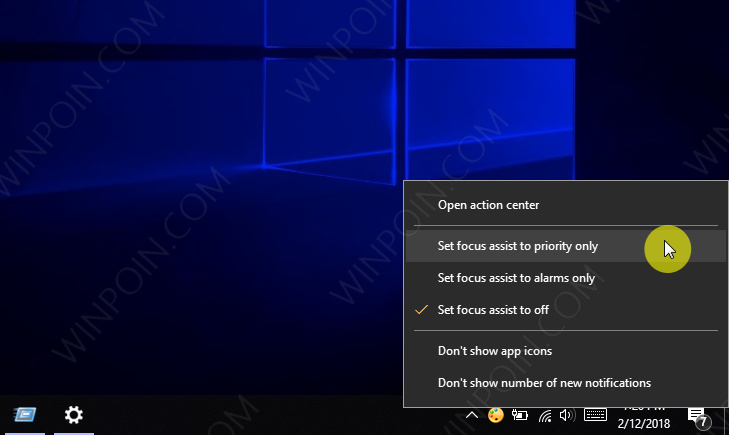 Cara Mengaktifkan Focus Assist di Windows 10 (2)