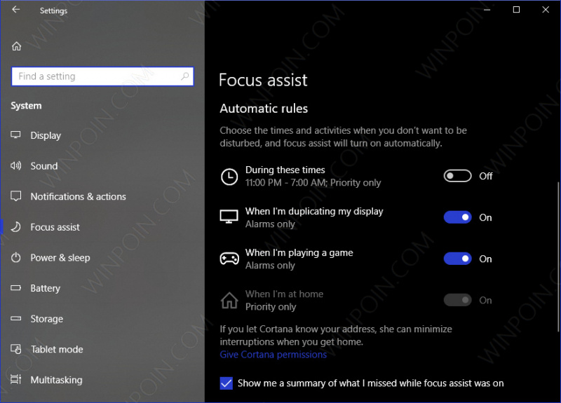 Cara Mengaktifkan Focus Assist di Windows 10 (6)